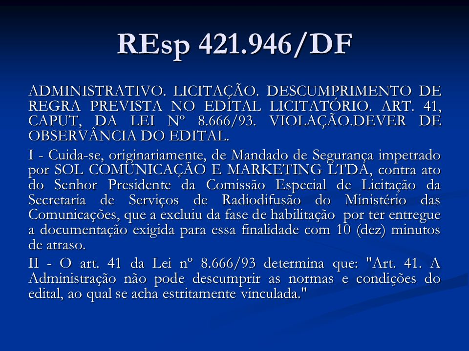 REsp 421.946/DF