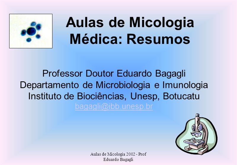 Aulas de Micologia Médica: Resumos