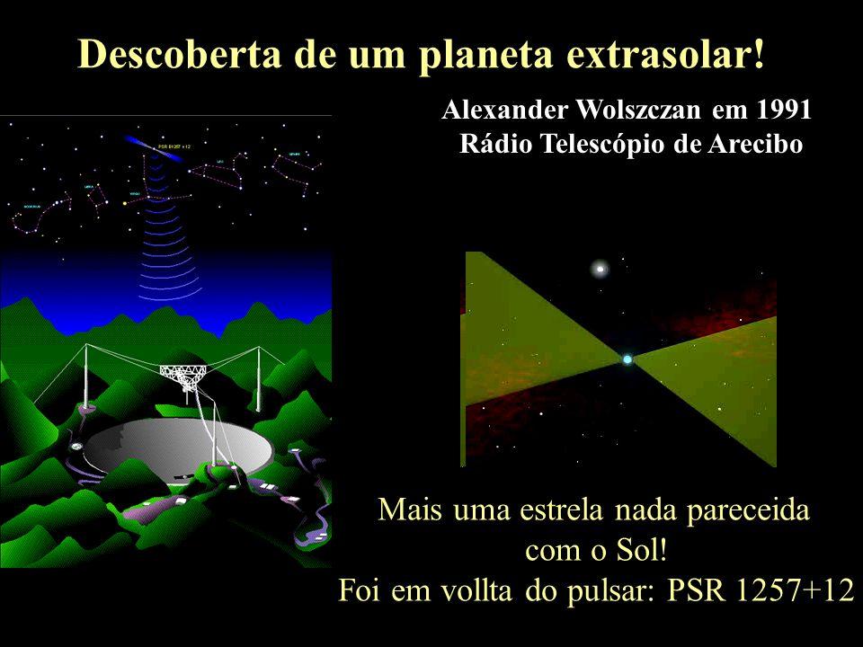 A descoberta de um planeta extrasolar