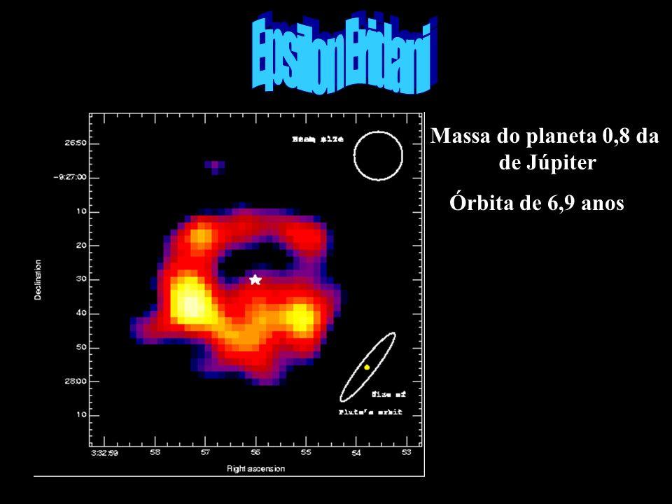 Epsilon eridadni Epsilon Eridani Massa do planeta 0,8 da de Júpiter