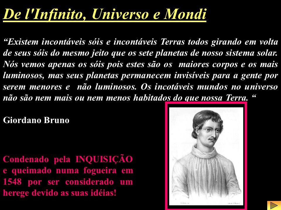 De l Infinito, Universo e Mondi