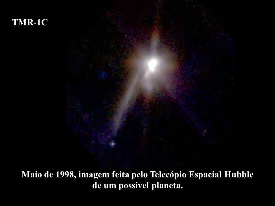 Maio de 1998, imagem feita pelo Telecópio Espacial Hubble