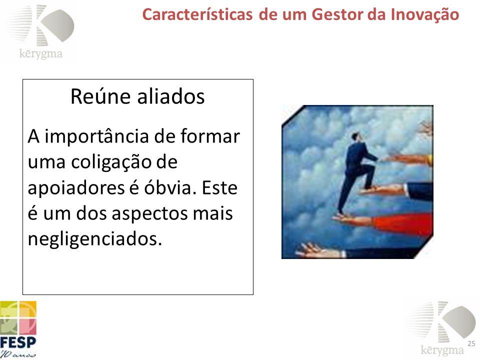 Características de um Gestor da Inovação
