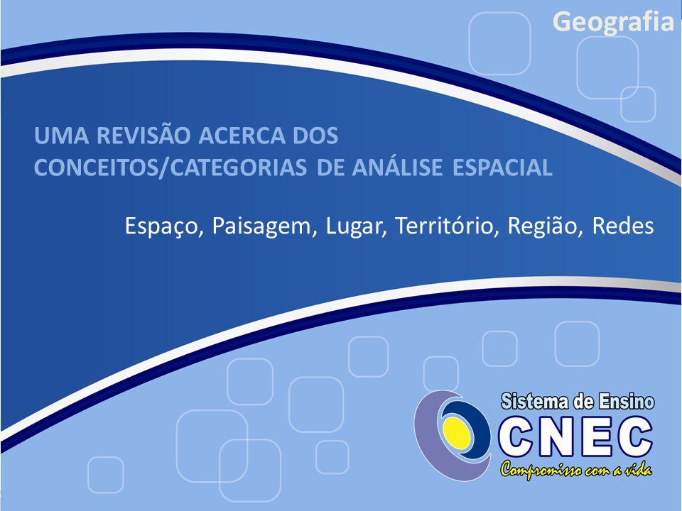 UMA REVISÃO ACERCA DOS CONCEITOS/CATEGORIAS DE ANÁLISE ESPACIAL