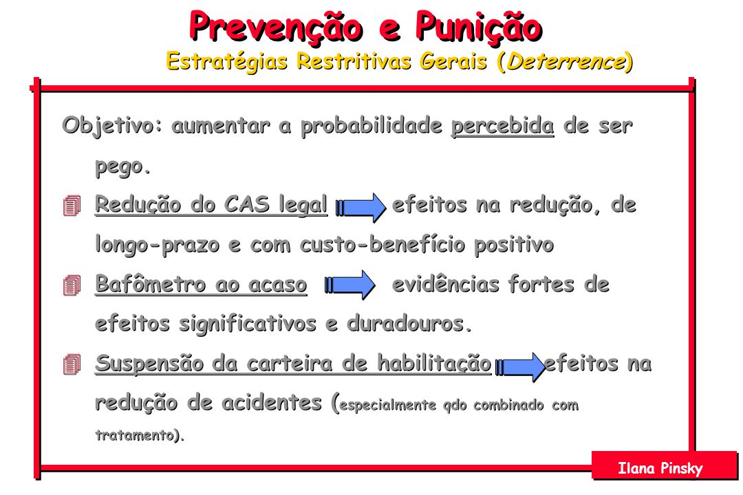 Estratégias Restritivas Gerais (Deterrence)