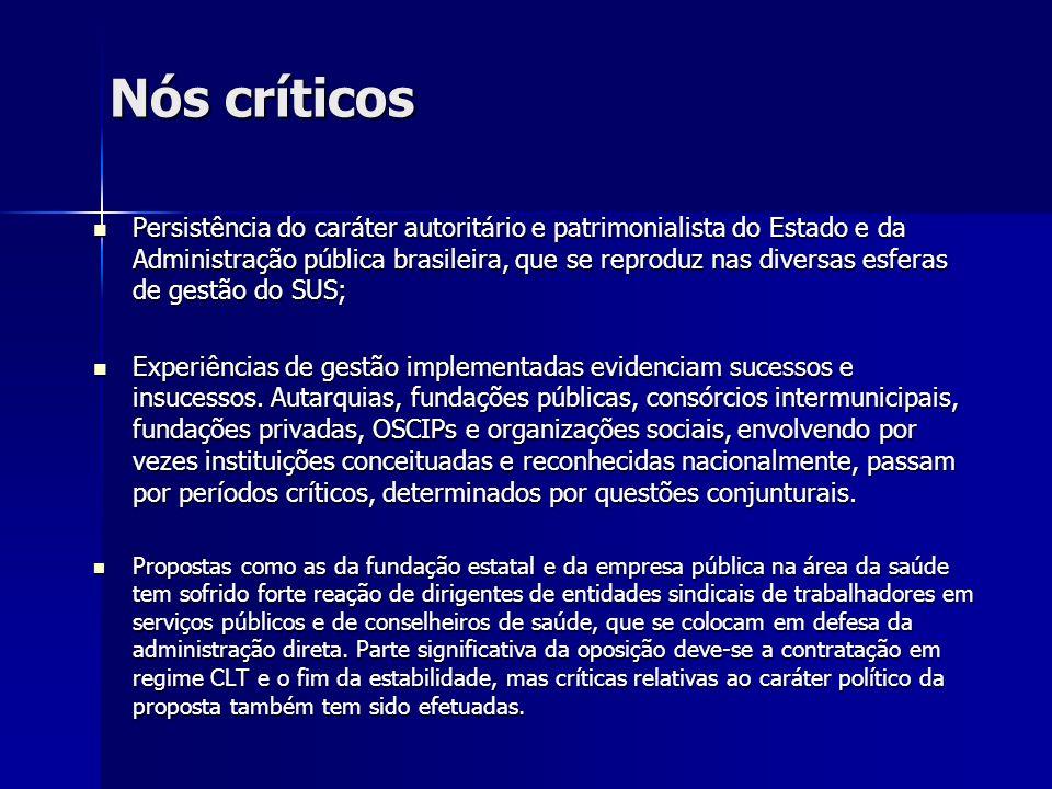 Nós críticos