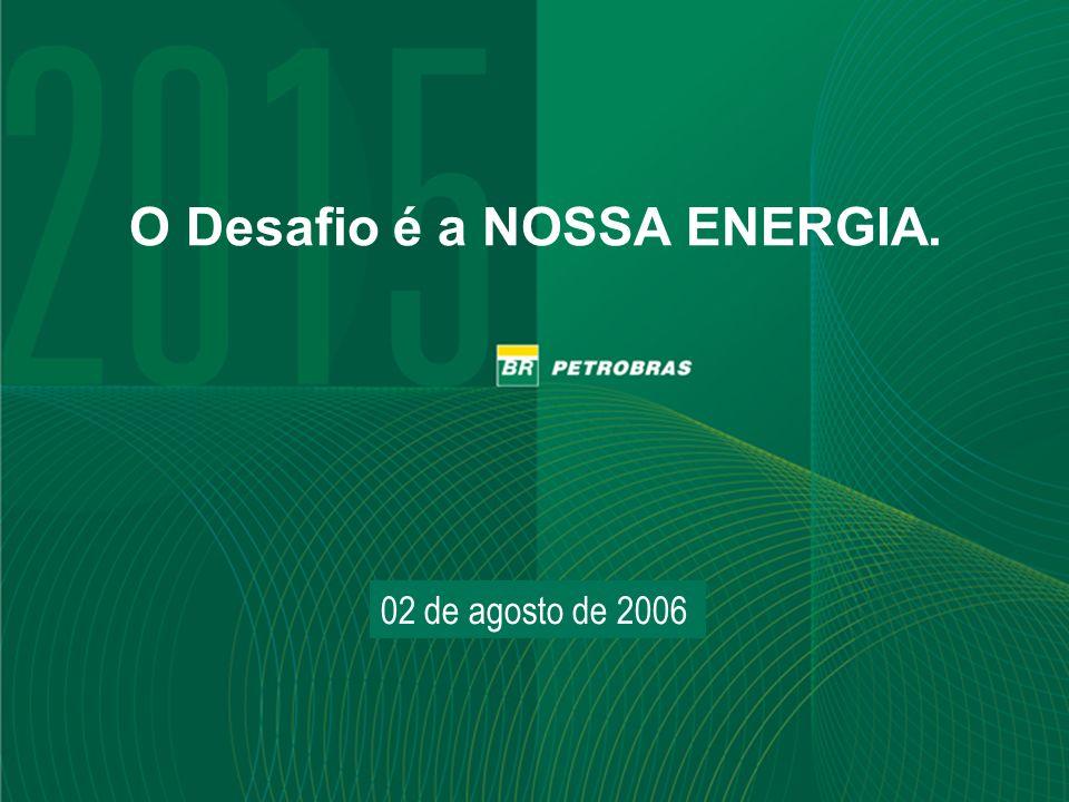 O Desafio é a NOSSA ENERGIA.