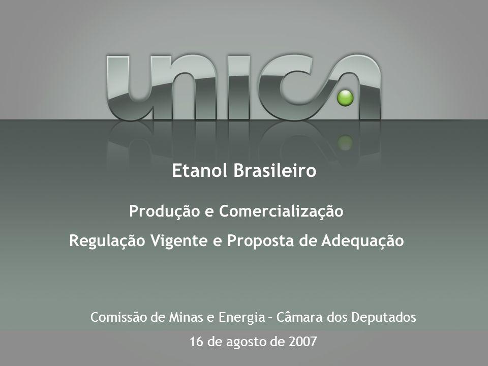 Produção e Comercialização Regulação Vigente e Proposta de Adequação