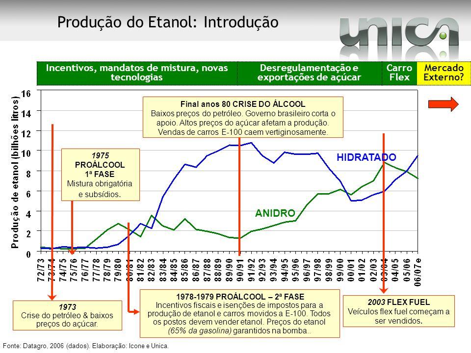 Produção do Etanol: Introdução