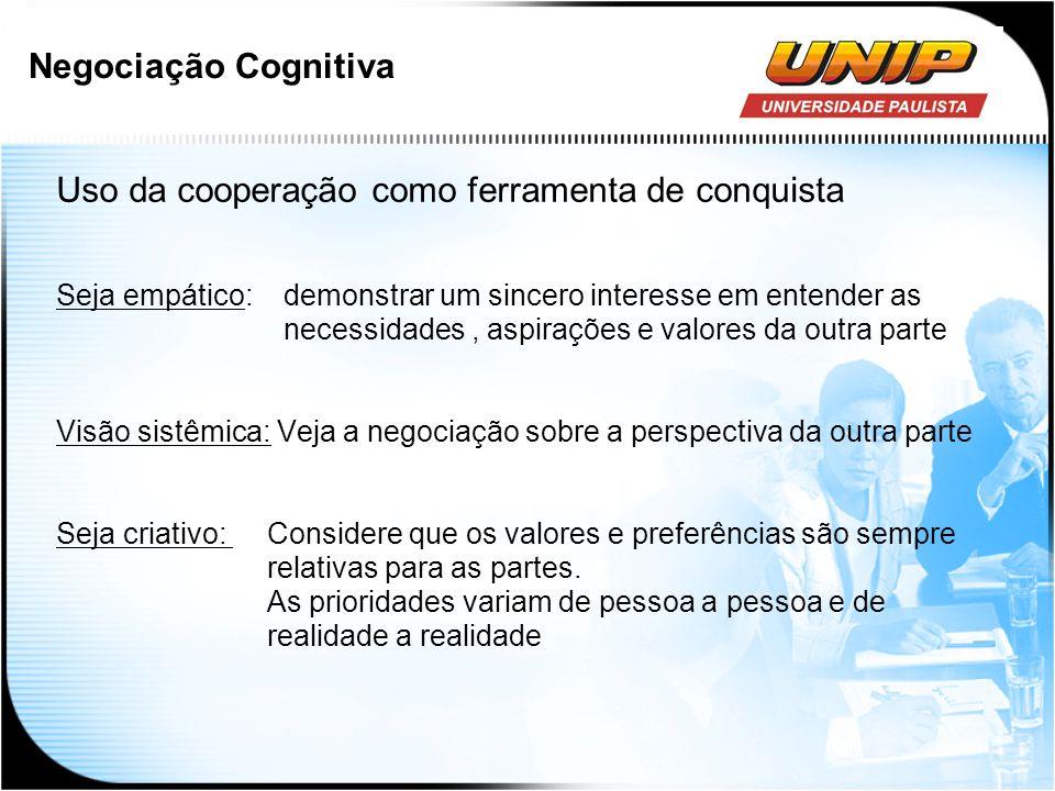 Uso da cooperação como ferramenta de conquista