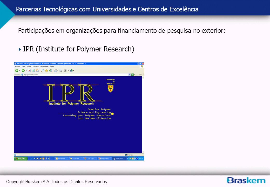IPR (Institute for Polymer Research)