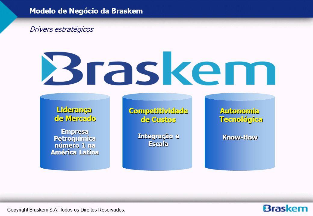 Modelo de Negócio da Braskem Drivers estratégicos