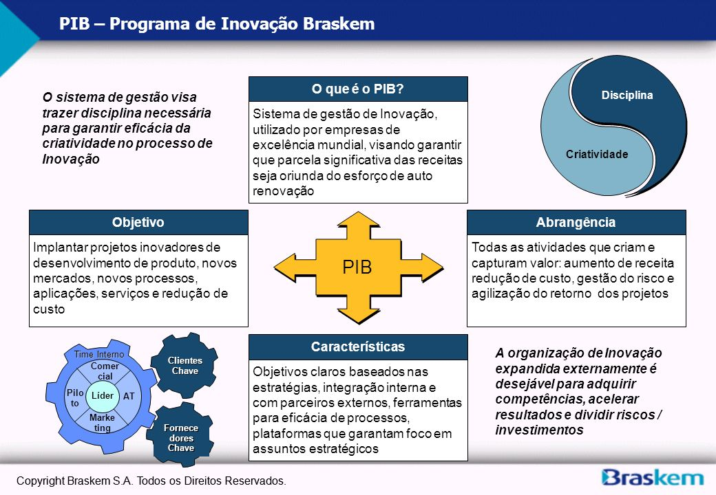 PIB – Programa de Inovação Braskem
