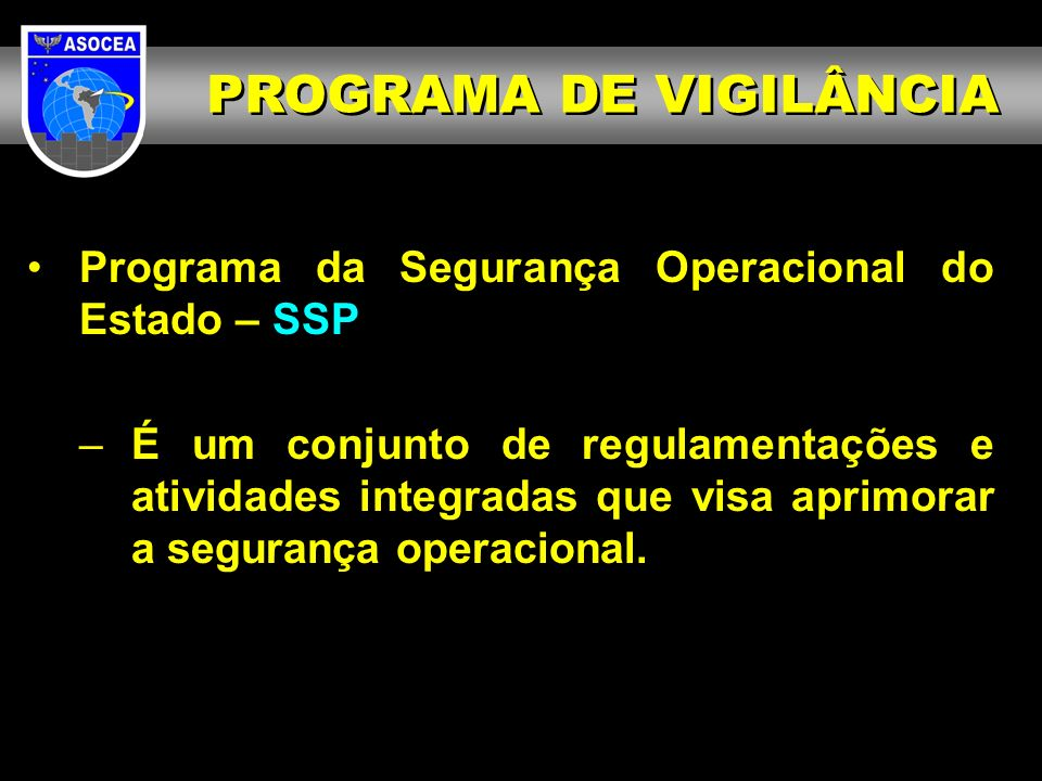 PROGRAMA DE VIGILÂNCIA
