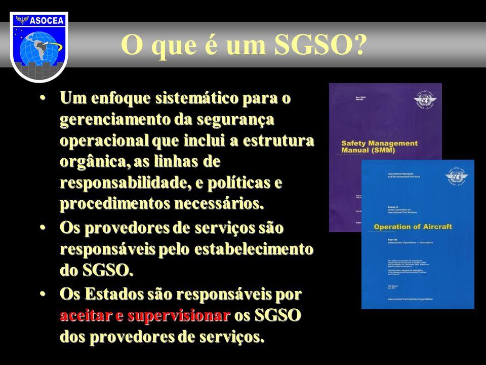 O que é um SGSO
