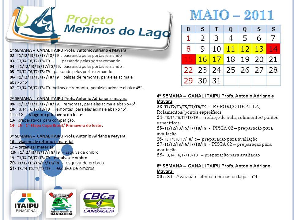 maio – 2011 D. S. T. Q. 1. 2. 3. 4. 5. 6. 7. 8. 9. 10. 11. 12. 13. 14. 15. 16. 17.