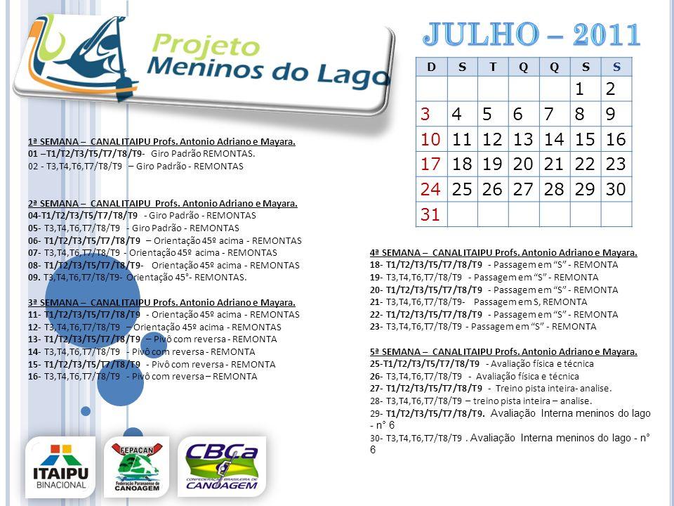 Julho – 2011 D. S. T. Q. 1. 2. 3. 4. 5. 6. 7. 8. 9. 10. 11. 12. 13. 14. 15. 16. 17.