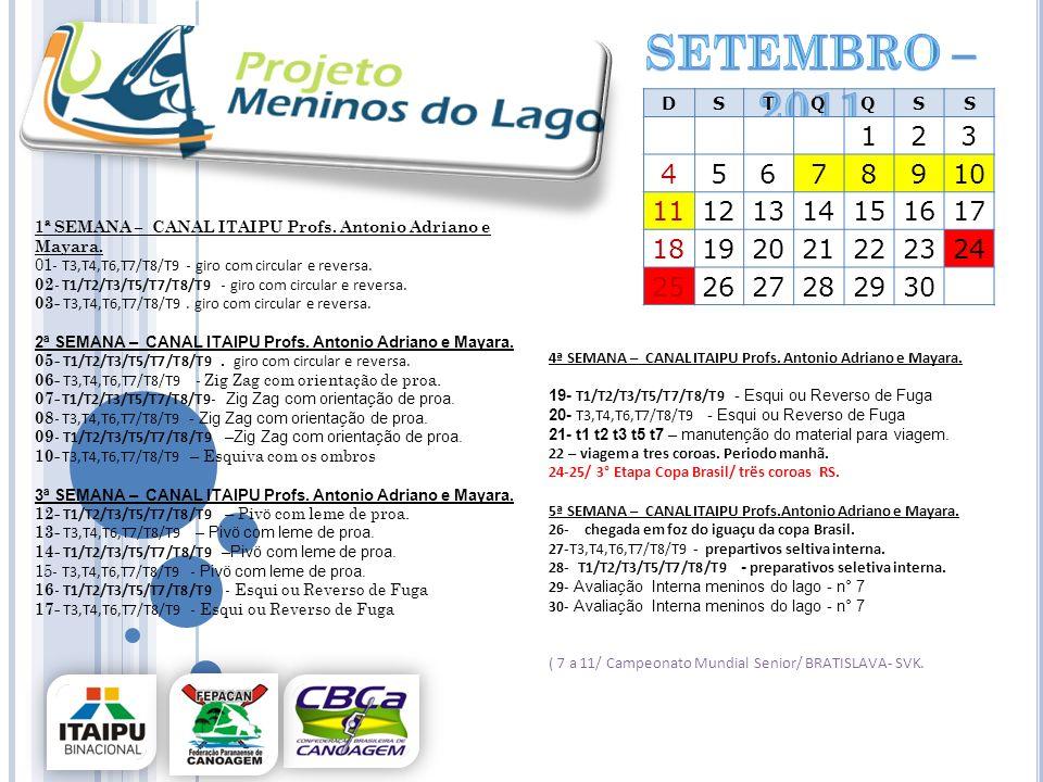 setembro – 2011 D. S. T. Q. 1. 2. 3. 4. 5. 6. 7. 8. 9. 10. 11. 12. 13. 14. 15. 16.