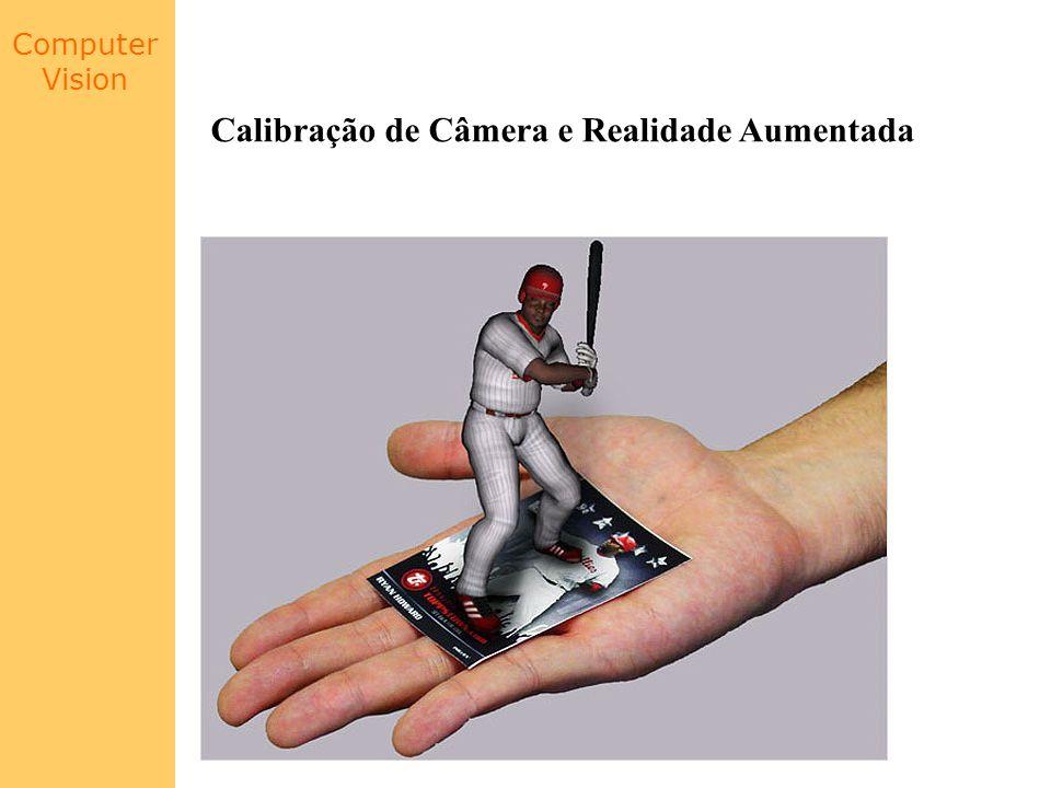Calibração de Câmera e Realidade Aumentada