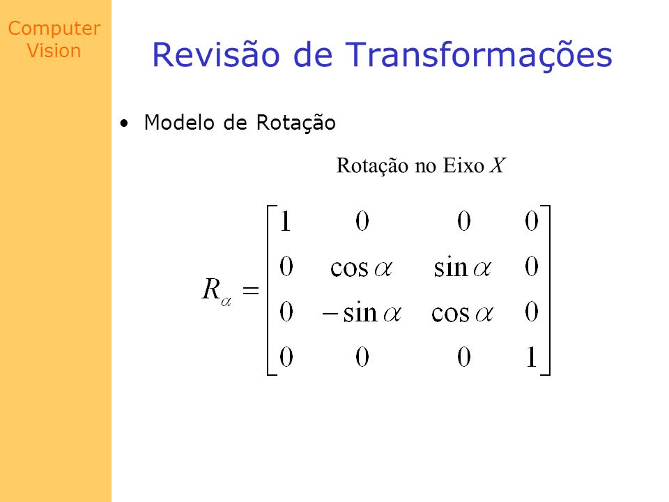 Revisão de Transformações