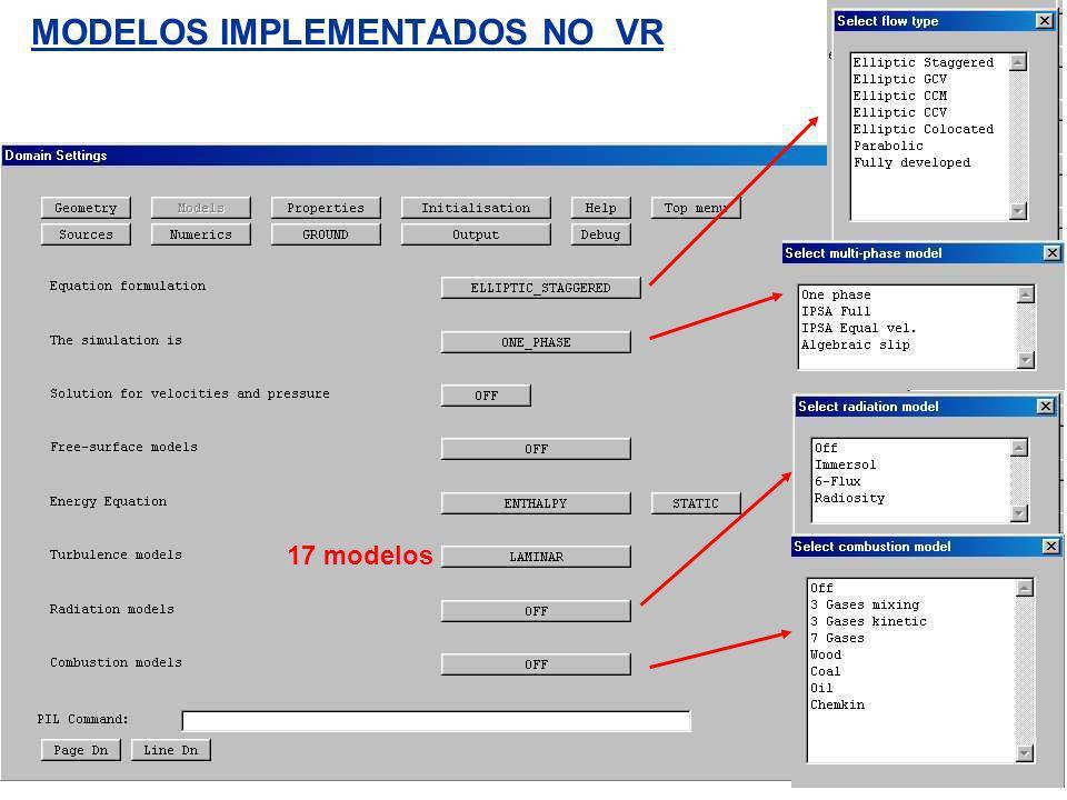 MODELOS IMPLEMENTADOS NO VR