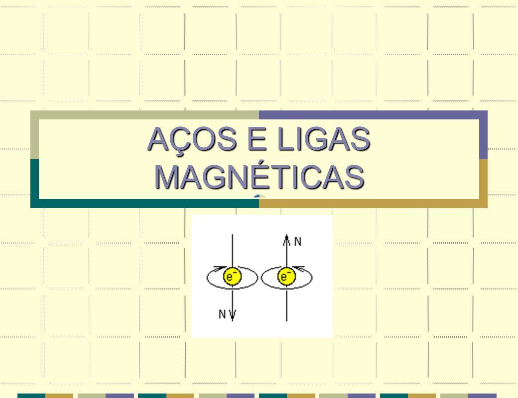 AÇOS E LIGAS MAGNÉTICAS