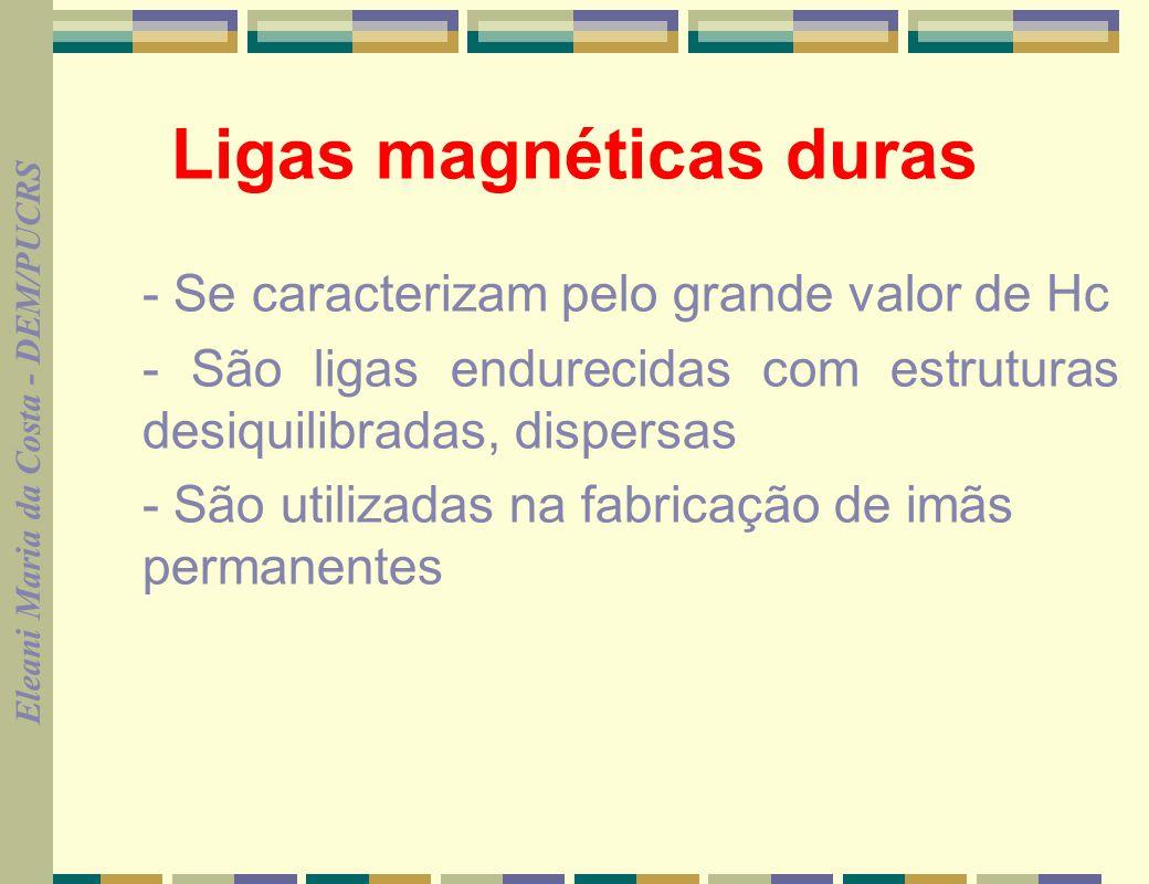 Ligas magnéticas duras