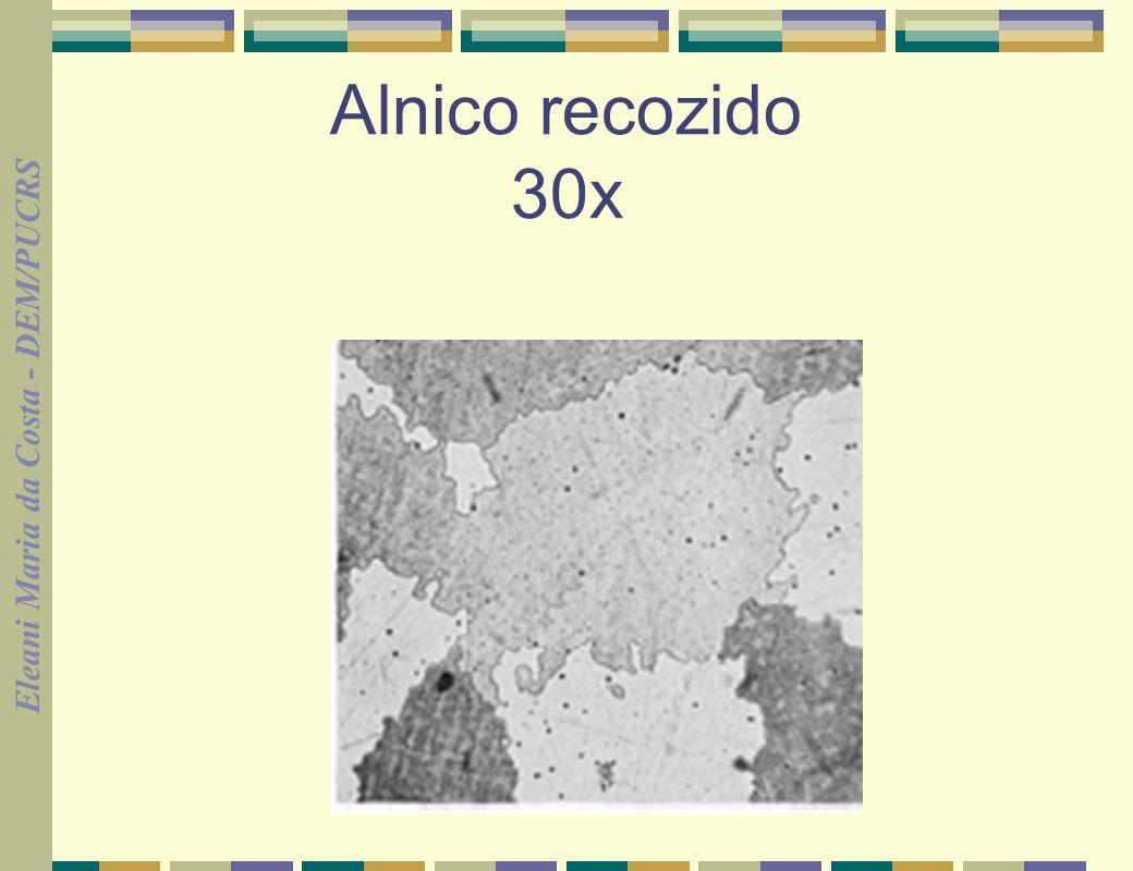 Alnico recozido 30x