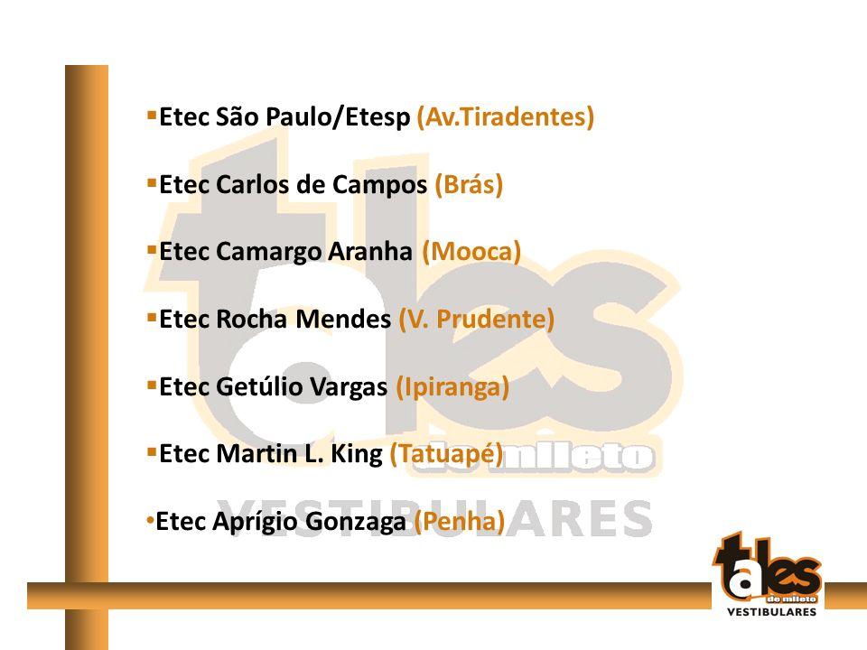 Etec São Paulo/Etesp (Av.Tiradentes)