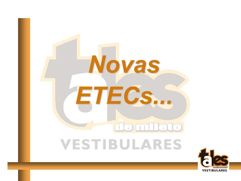 Novas ETECs...
