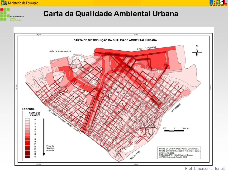 Carta da Qualidade Ambiental Urbana