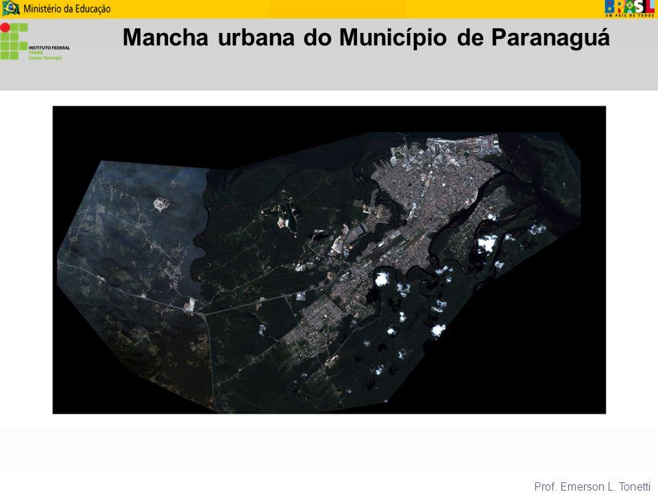 Mancha urbana do Município de Paranaguá