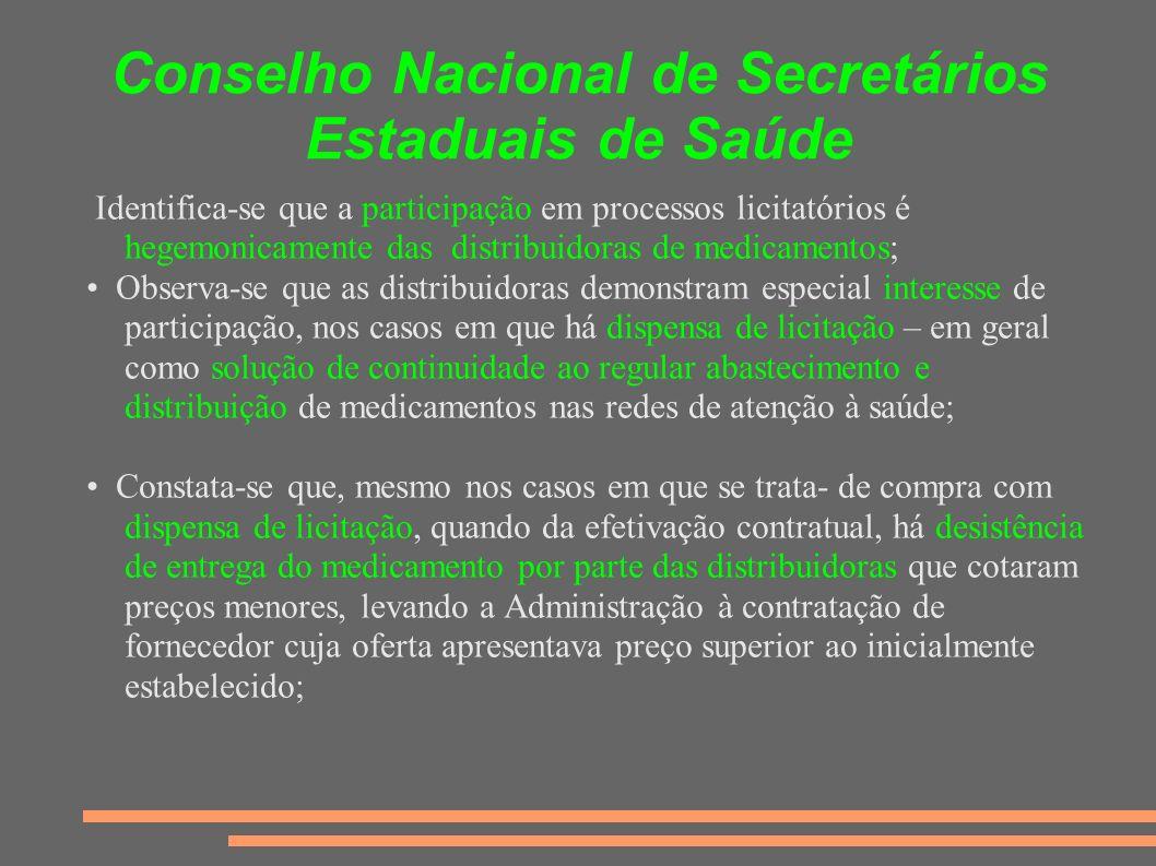 Conselho Nacional de Secretários Estaduais de Saúde