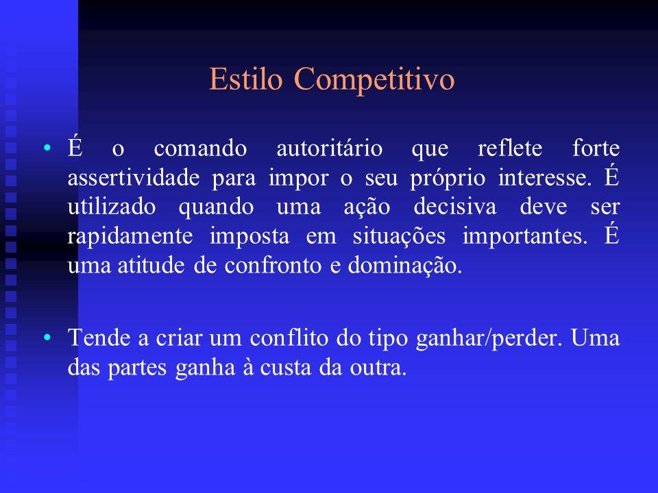 Estilo Competitivo