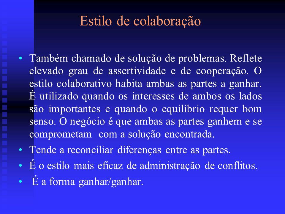 Estilo de colaboração