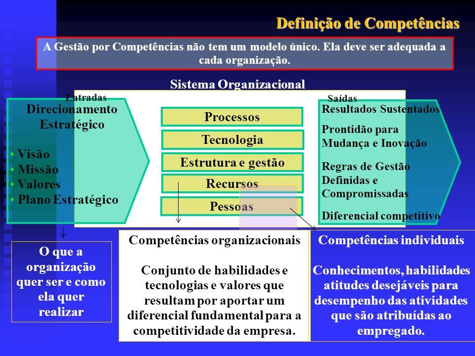 Definição de Competências
