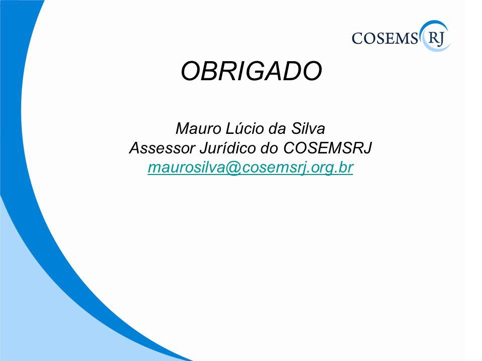 Assessor Jurídico do COSEMSRJ