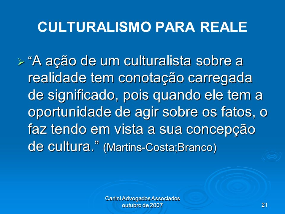 CULTURALISMO PARA REALE