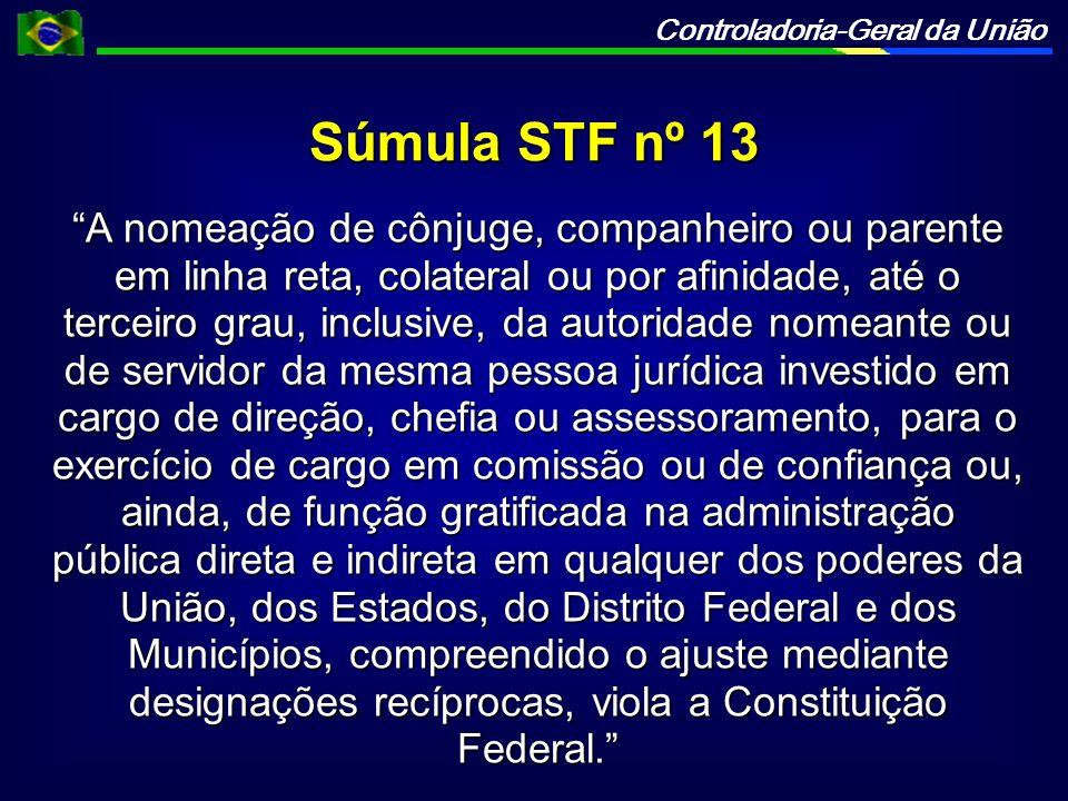 Súmula STF nº 13