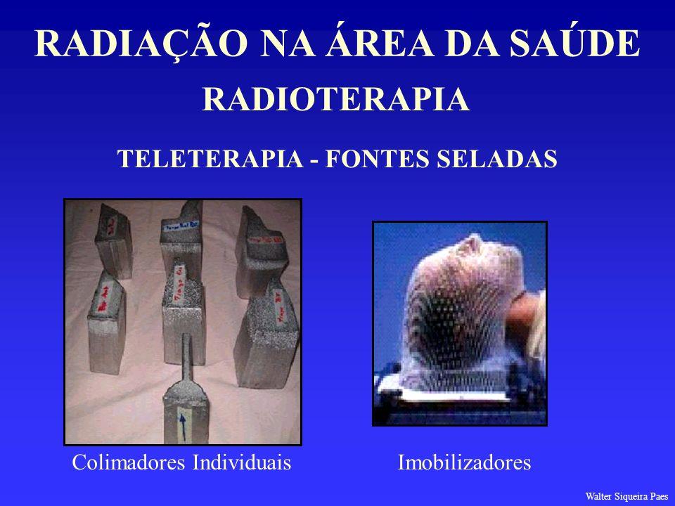 RADIAÇÃO NA ÁREA DA SAÚDE TELETERAPIA - FONTES SELADAS