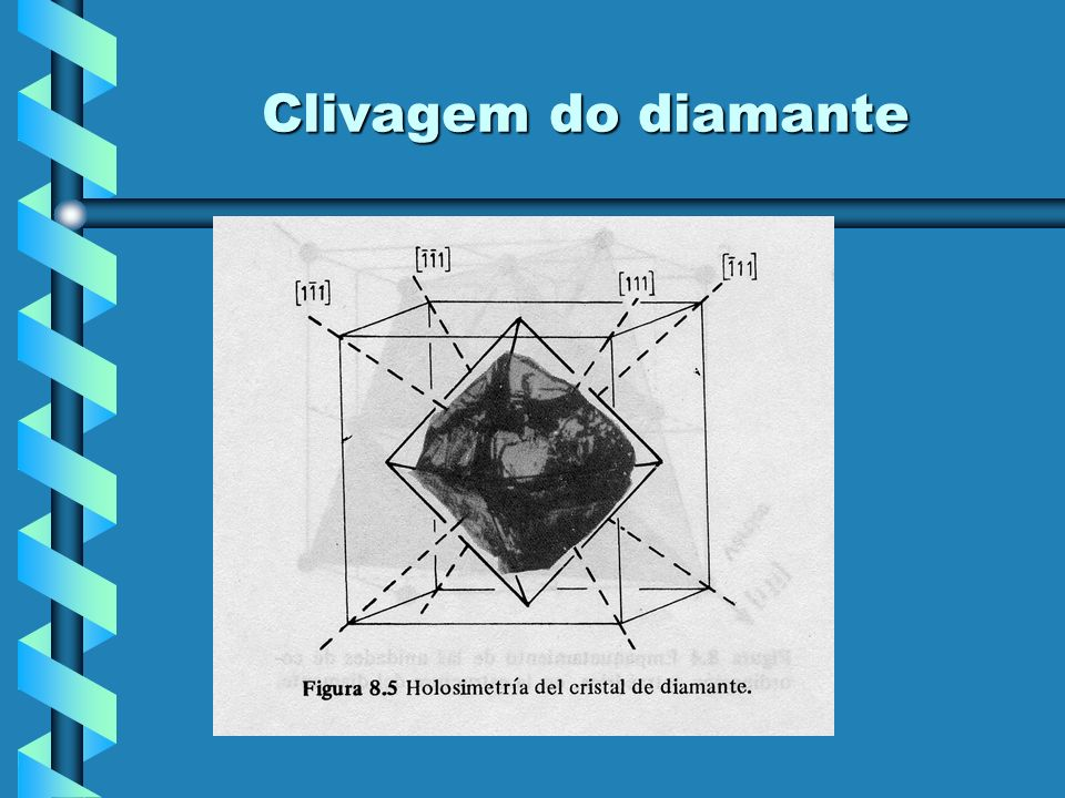 Clivagem do diamante