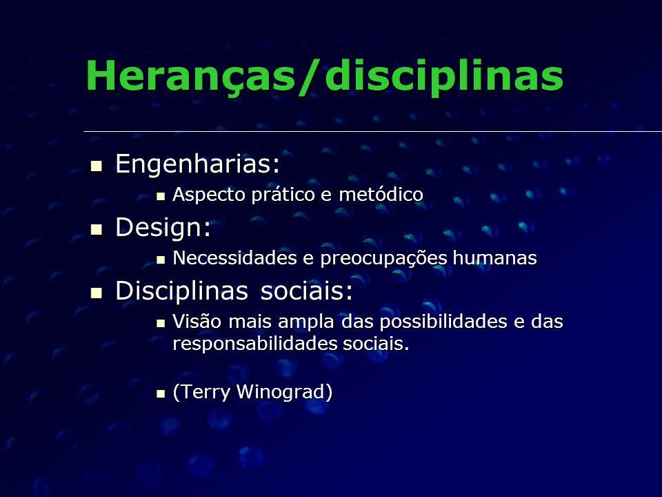 Heranças/disciplinas
