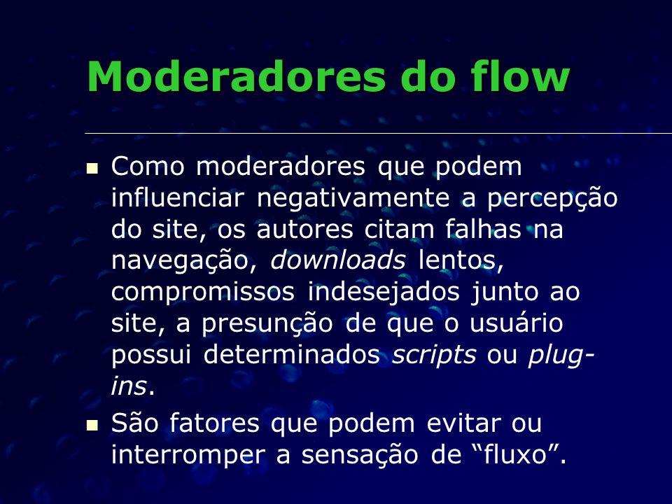 Moderadores do flow