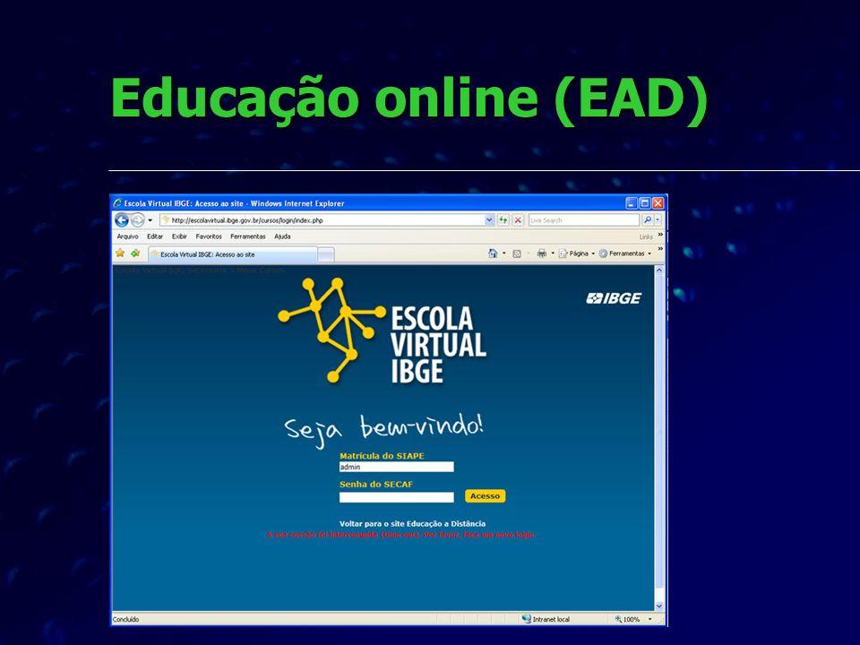 Educação online (EAD)