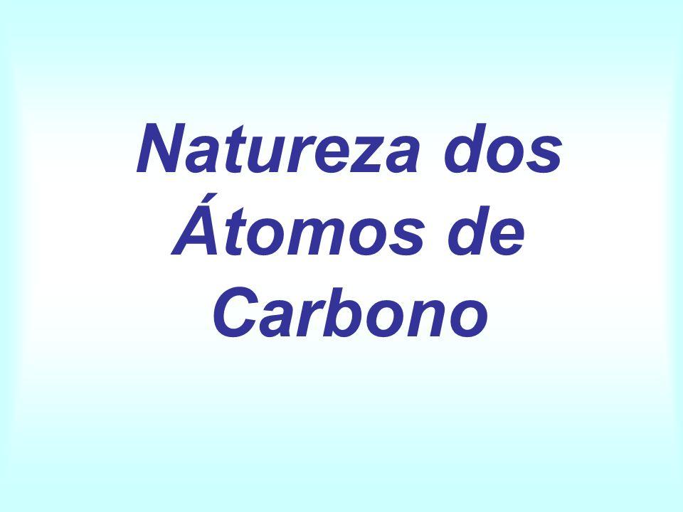 Natureza dos Átomos de Carbono