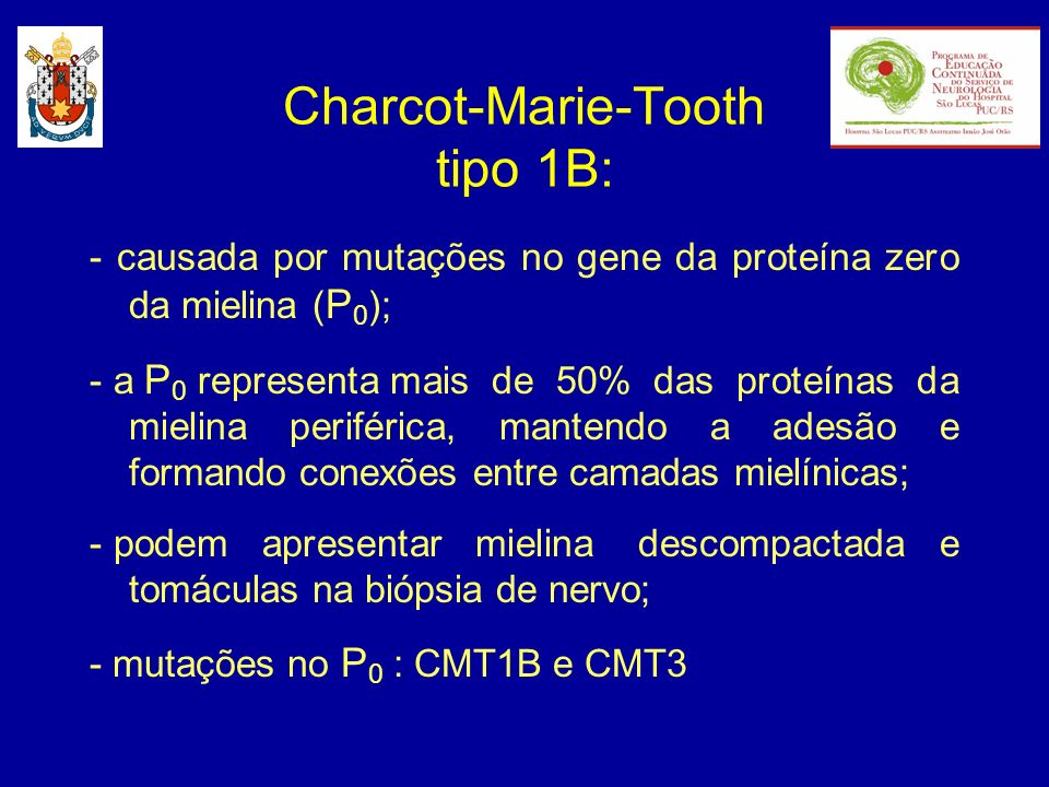 Charcot-Marie-Tooth tipo 1B: