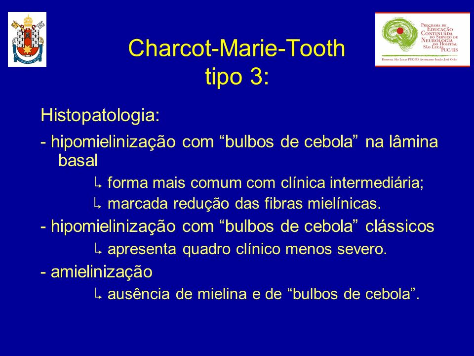 Charcot-Marie-Tooth tipo 3: