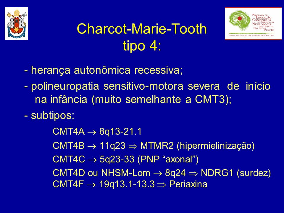 Charcot-Marie-Tooth tipo 4: