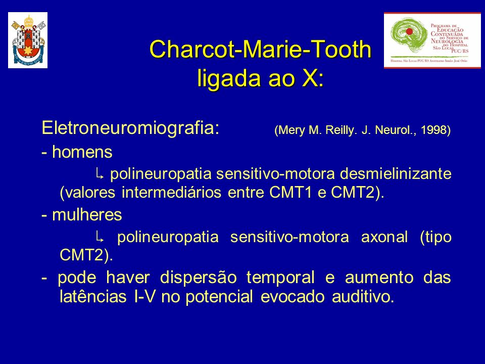 Charcot-Marie-Tooth ligada ao X: