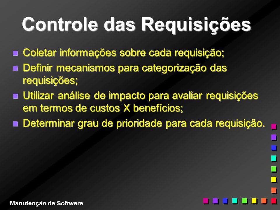 Controle das Requisições